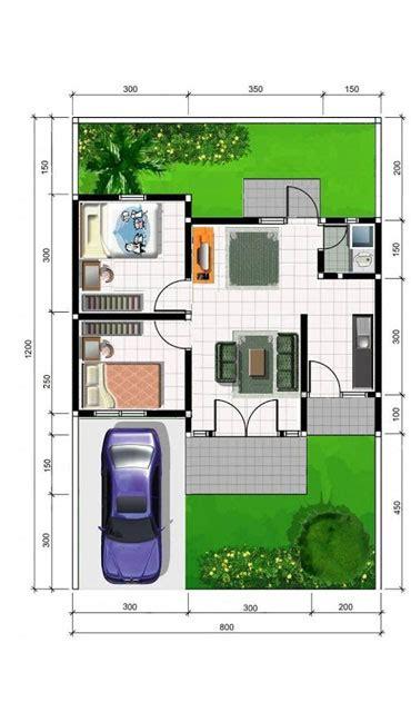 gambar denah rumah type    lantai terbaru
