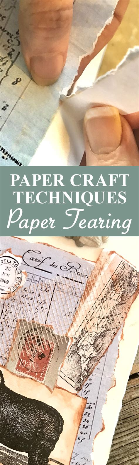 paper craft techniques paper tearing  graphics fairy