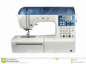 Modern Computer Sewing Machine Royalty Free Stock Image ...