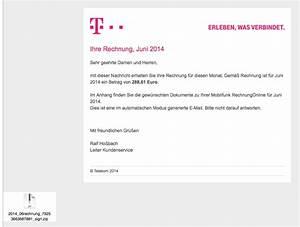 Rechnung Einsehen Telekom : angebliche telekom rechnung ~ Themetempest.com Abrechnung