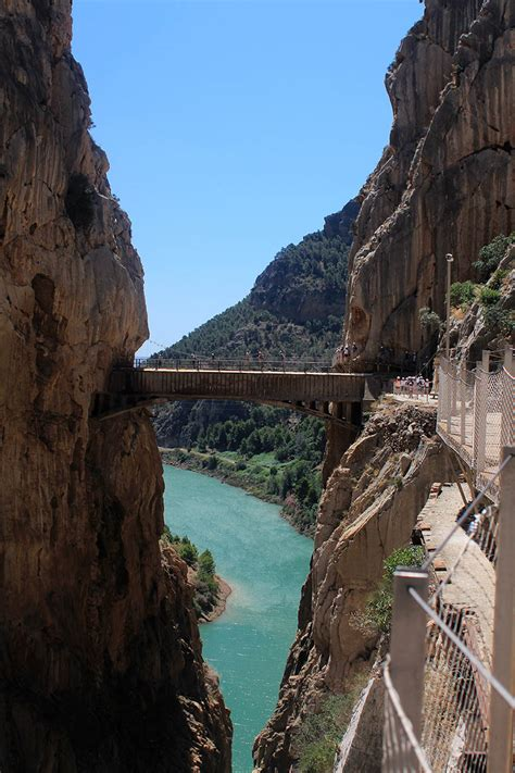 travel hiking  caminito del rey sarandipity