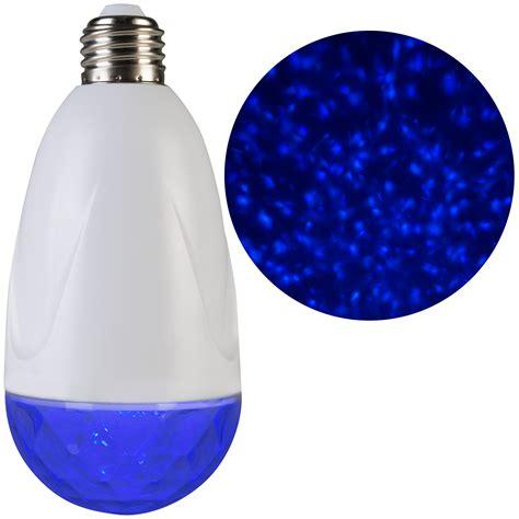 lightshow projection standard light bulb kaleidoscope blue