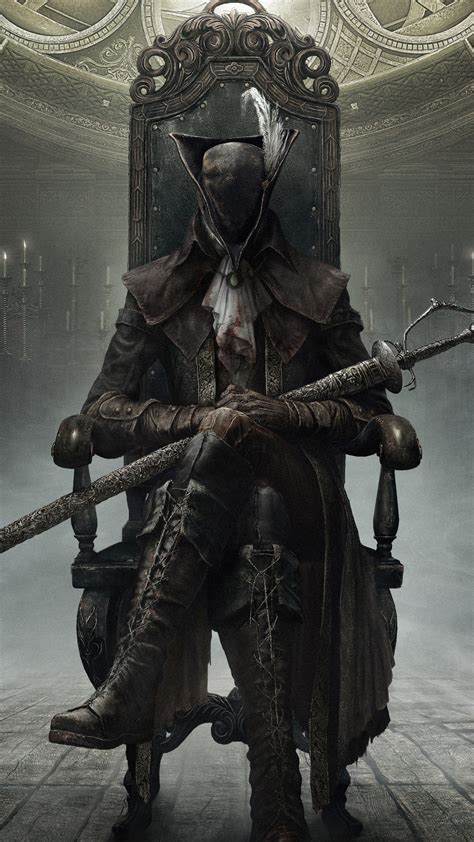 wallpaper bloodborne   hunters hunter action
