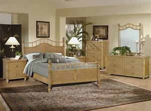 Rattan furniture natures gift for your home furniture for Wicker bedroom sets