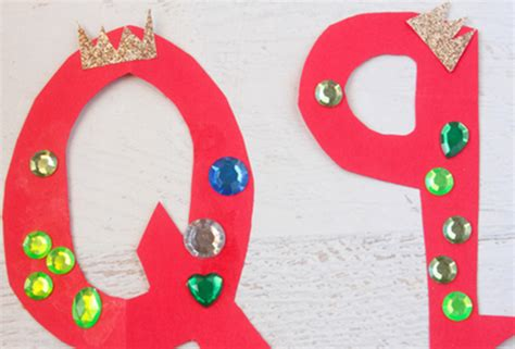 Q Is For Queen Letter Q Craft