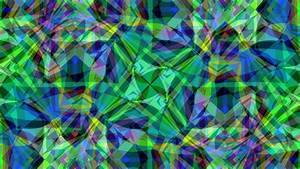 blue colorful colors green pattern shapes hd abstract