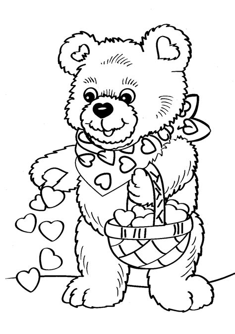 Coloring Valentines by S Day Coloring Pages Valentines Coloring Pages