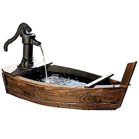 deko brunnen für garten deko brunnen boot jetzt bei weltbild de bestellen