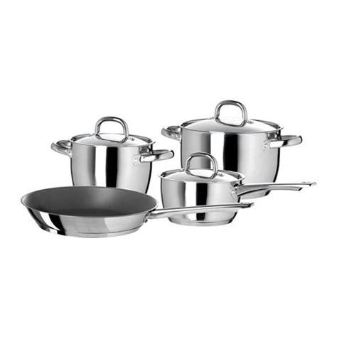 cookware ikea pots pans sets sauce piece