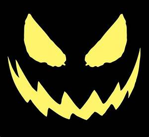 scary printable pumpkin carving patterns erwinnavyanto With evil pumpkin face template