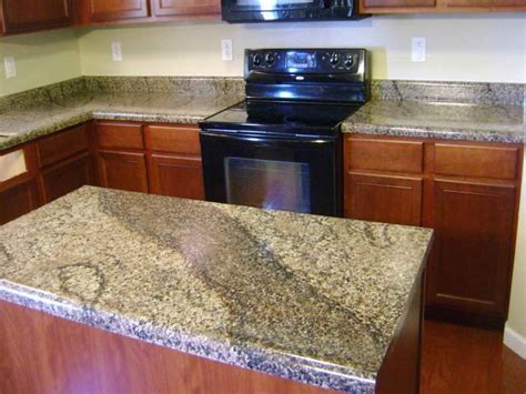 Kitchen  Ideas For Installing Faux Granite Countertops