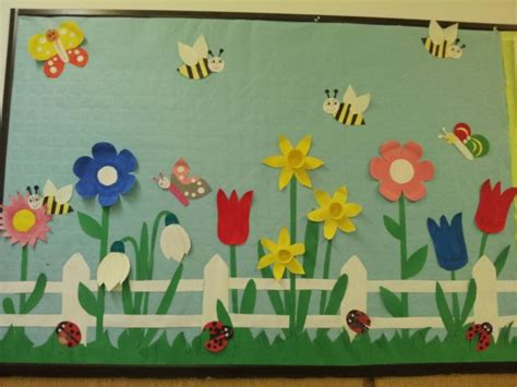 89 Best Images About Spring Bulletin Boards On Pinterest