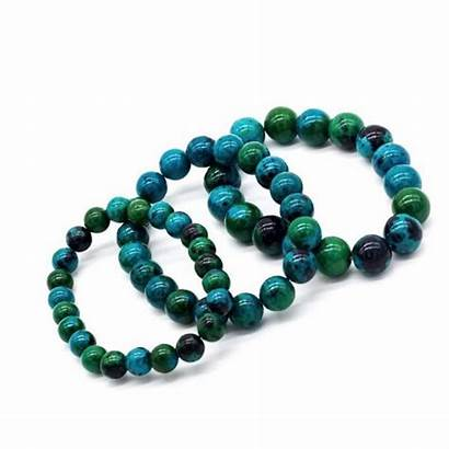 Bracelet Chrysocolla Stone Earth