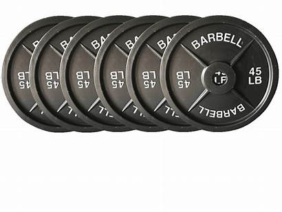 Weights Fake Weight Barbell Plates Lb Pairs