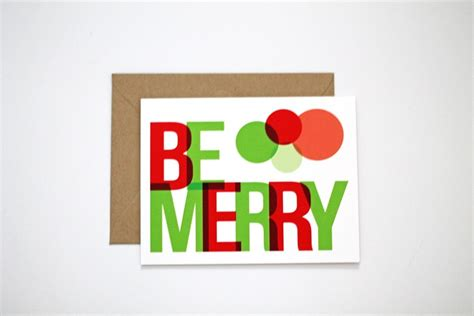 unique holiday card features  modern design