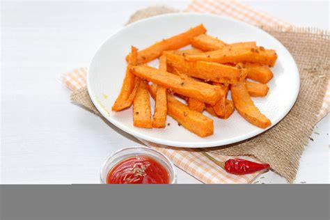 cuisiner patate douce au four frites de patate douce au four du bio dans mon bento