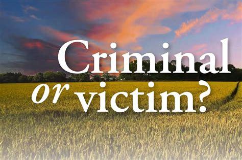Criminal or victim? | Pocketmags.com