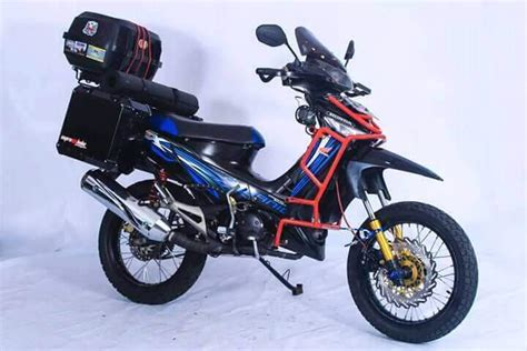 Modif Supra 125 by Gambar Motor Supra X 125 Modif Touring Myvacationplan Org