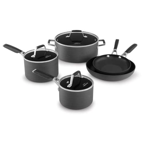 Calphalon Kitchen Essentials Non Stick Cookware by Select By Calphalon 8pc Anodized Non Stick Cookware
