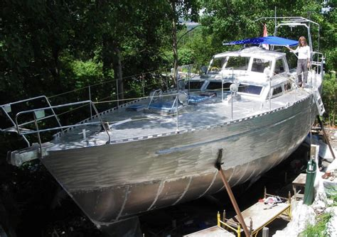 Boat Building by A Diy Backyard Boat Build Resulting In A Sailboat