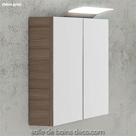 armoire miroir de salle de bain armoire salle de bains miroir meuble suspendu 60cm achat