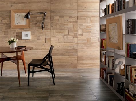 wall floor wood look tiles