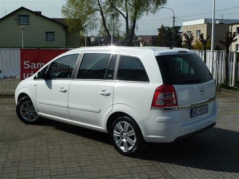 Opel Zafira Diesel by Opel Zafira 1 9 Cdti Cosmo Activeselect Diesel 2010 R