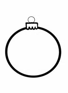 christmas ornament outline free stock photo public domain pictures