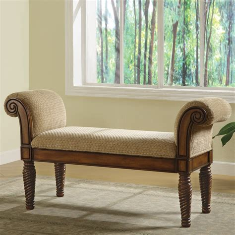Coaster Fine Furniture 100224 Stately Upholstered Bench