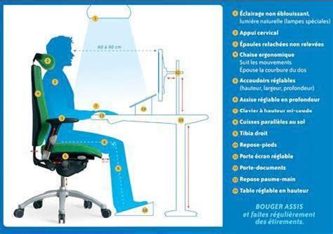poste de travail ergonomique bureau aménagement poste de travail informatique ergotherapie fr