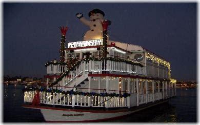 newport light parade cruises www angelalouise com riverboat angela louise charter