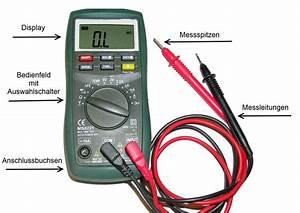 Spannung Messen Multimeter : multimeter anleitung richtig messen mit dem multimeter ~ A.2002-acura-tl-radio.info Haus und Dekorationen