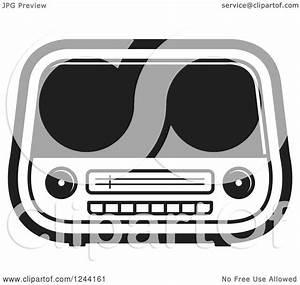 Retro Radio Clipart (46+)