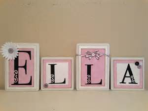 Baby Boy Name Letters Wall Decor