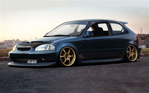 Honda Civic Hd Picture by Honda Civic Eg Hatch Wallpapers Wallpaper Cave