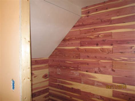 inexpensive panel nails for cedar closet liners