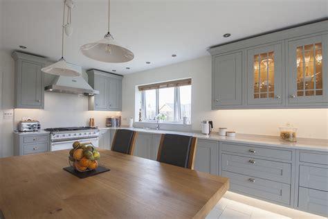 grey shaker cabinets kitchen light grey shaker kitchen design by herbert william