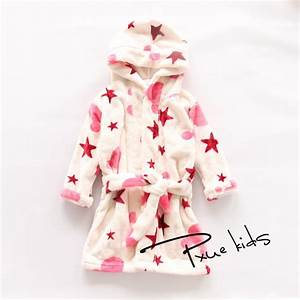 2015 new baby bathrobe children kids pajamas cartoon bath With robe de chambre polaire enfant