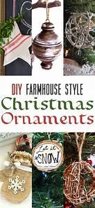 diy, farmhouse, style, christmas, ornaments