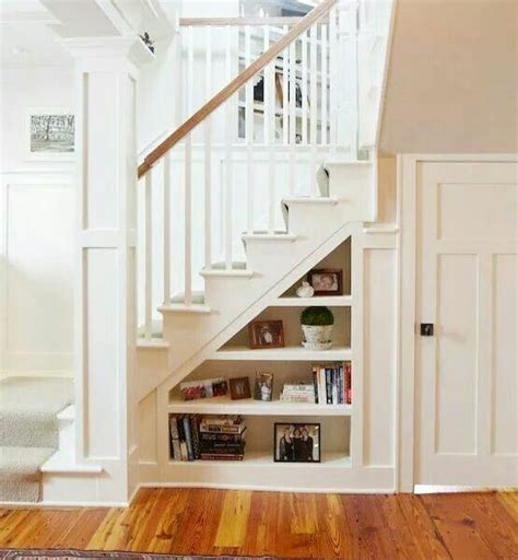 Stairs Shelf Ideas For Book Storage by Best 25 Stairs Storage Solutions Ideas On