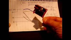 Ac Reverse Polarity Indicator  Protection Circuit 120v  240v