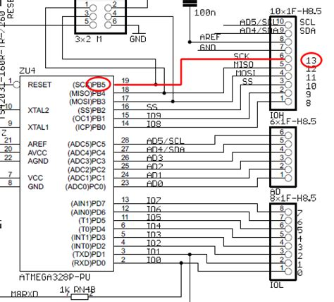 Breadboard How Does Current Flow Through This Arduino