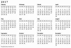2017 Calendar Canada | printable 2017 calendars