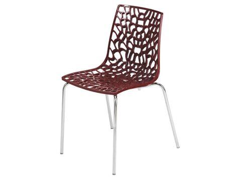 chaise cuisine conforama chaise groove 2 coloris vente de chaise conforama