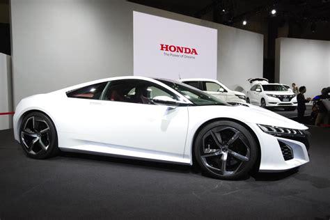 honda nsx  feature twin turbo  hybrid