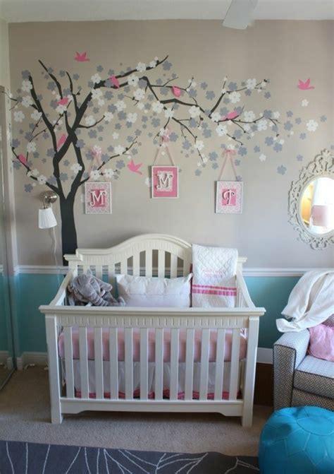 Babyzimmer Wandgestaltung moderne und wundersch 246 ne babyzimmer dekoration archzine net