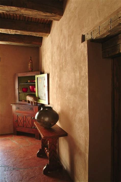 american clay plaster the color is probably chocolate or santa fe decorating ideas