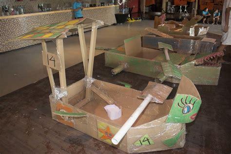 Cardboard Boat Construction by Building A Cardboard Boat Flickr Royalty