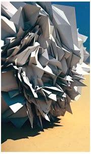 Cgi Low Poly Abstract Digital Art Artwork - WallDevil