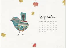 10 WellDesigned September Desktop Calendars to Download
